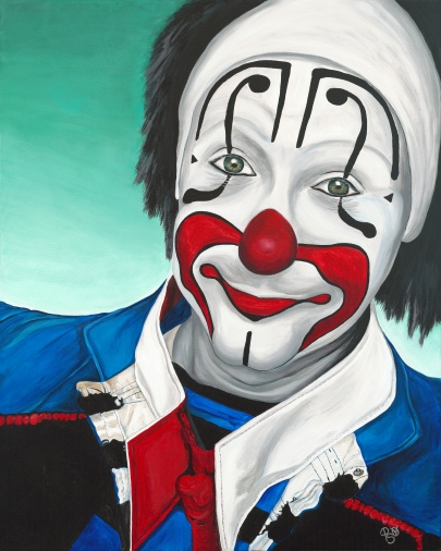 Billy Ballantine II Acrylic on Canvas 24 X 30 Original For Sale $936.00
