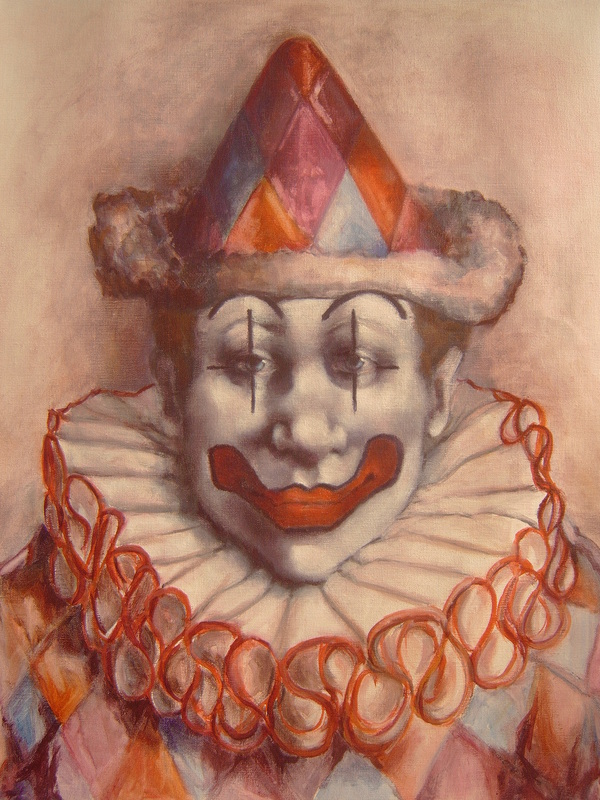 Leo The Clown The Art Of Patty Sue O Hair Vicknair