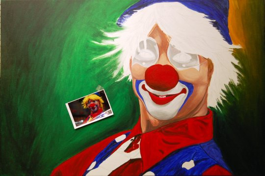 Hello Clown E 7-22-09