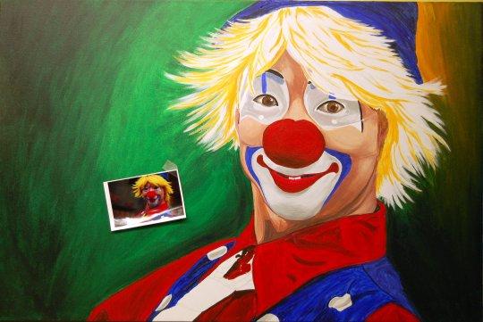 Hello Clown F 7-23-09