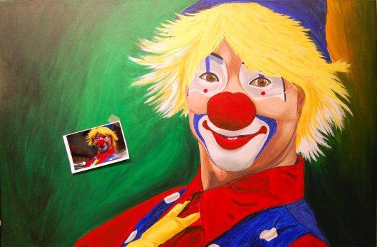 Hello Clown G 7-23-09