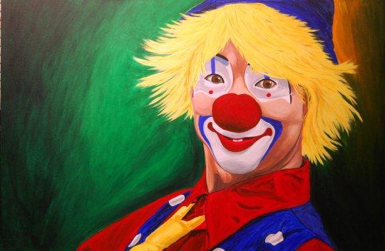 Hello Clown H 7-27-09