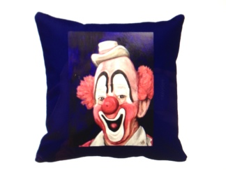 Lou Jacobs Throw Pillow