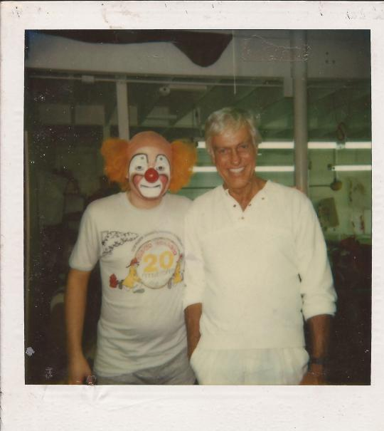 1987 Herky and Dick Van Dyke