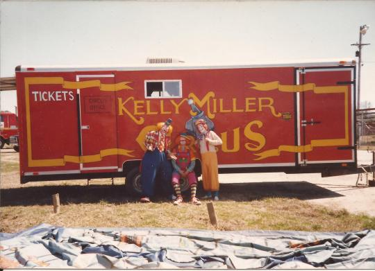 Kelly Miller 3 ring ticket wagon