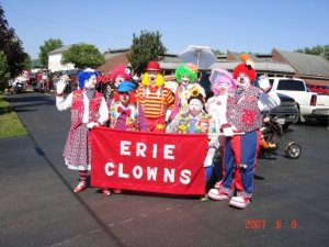 Erie Clowns Red Skelton Parade
