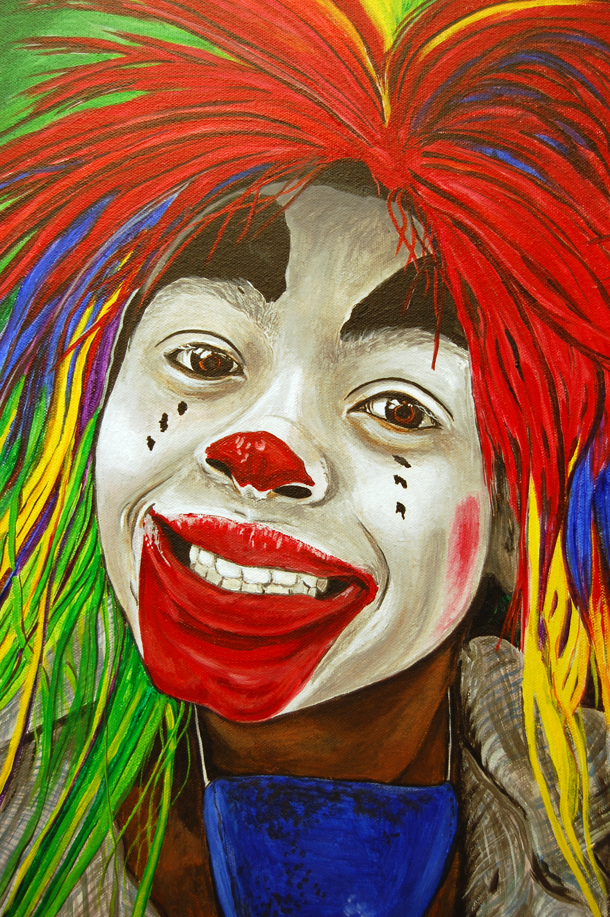 kid clowns the art of patty sue o u0027hair vicknair