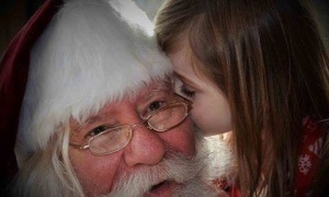 Original Photo of Santa Dale Claus
