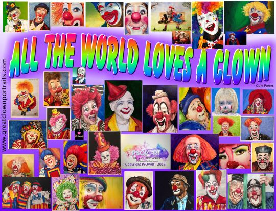 All the world loves a clown